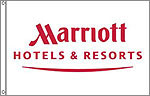 Marriot Hotel flags