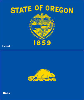 Image result for oregon state flag