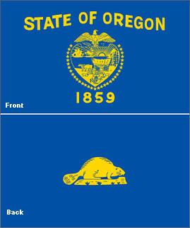 Image result for oregon state flag