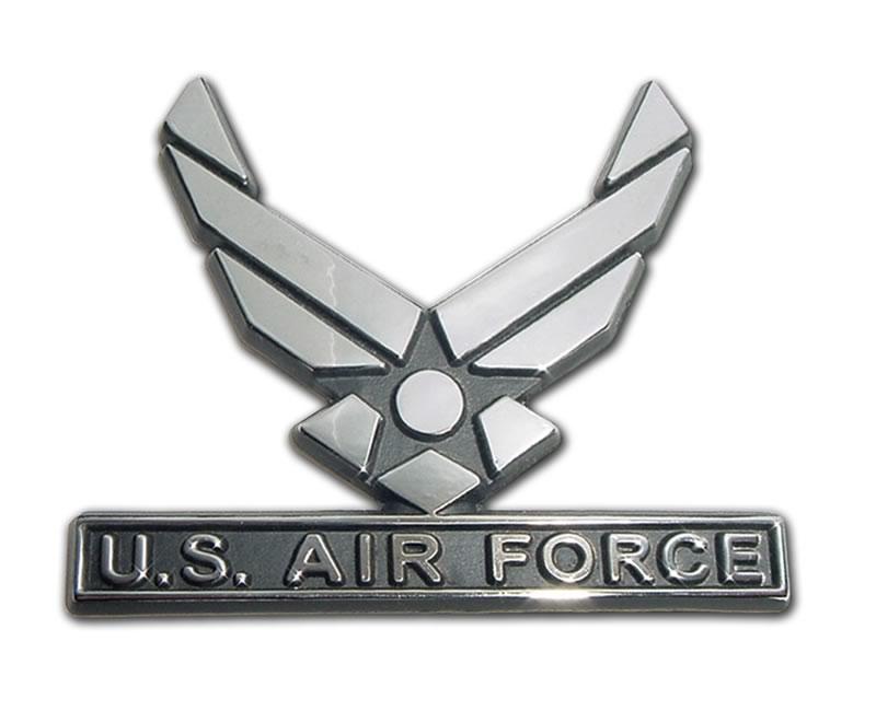 Chrome Automobile Emblems By Flag Works Over America
