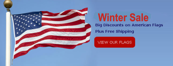 Winter Flag Sale