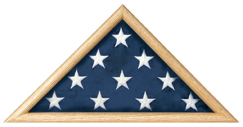 Military Casket Burial Flag Triangle