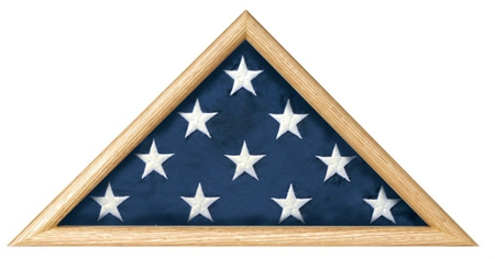 Military Ceremonial Flag Triangle