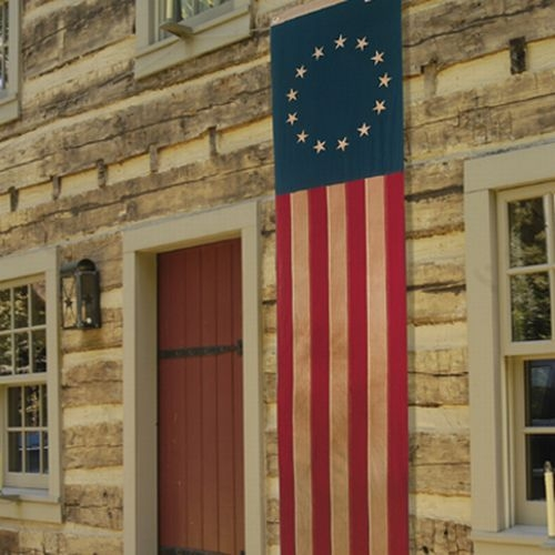 "20"" x 8' Betsy Ross Colonial Pull-Down"
