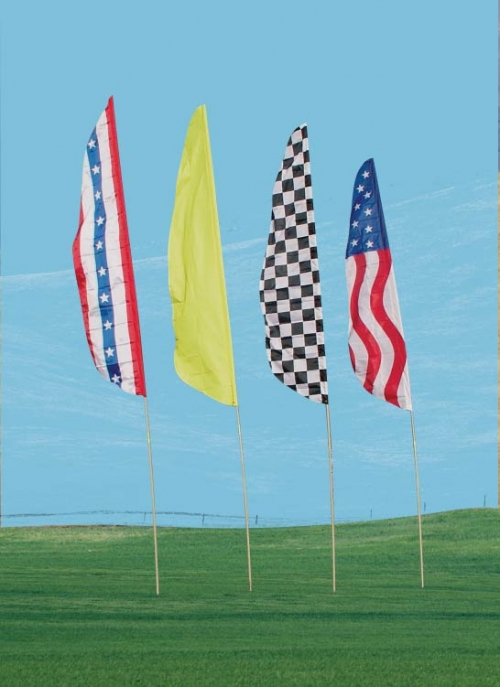 "Aire Art Feather Flags, 12' x 32"" Flag Set"