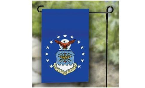 "12"" x 18"" Air Force Garden Flag"