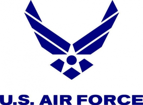 3' x 5' US Air Force Logo, H & G, Nylon Flag