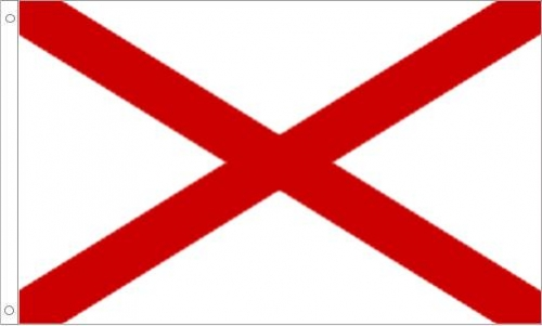 Alabama Flag, Polyester