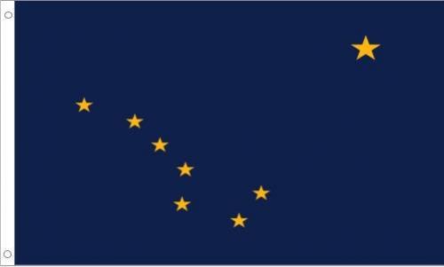 Alaska Flag, Polyester