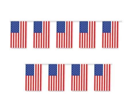 US Flag Pennants