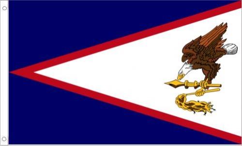 American Samoa Flag, Nylon