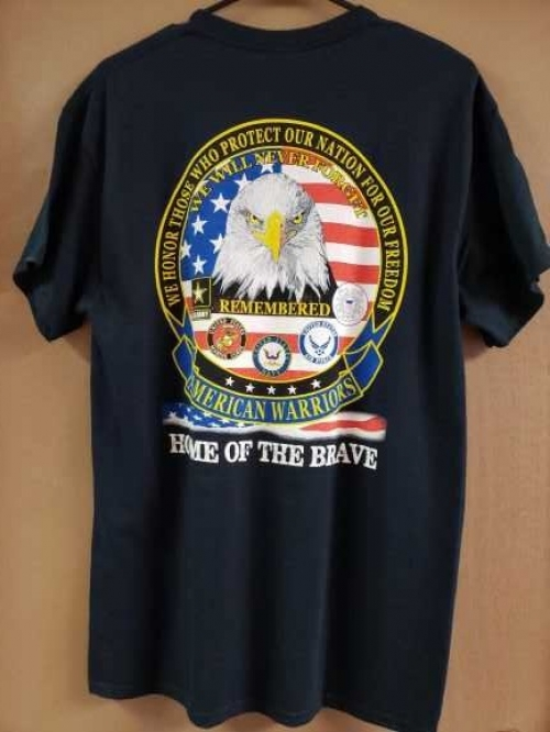 American Warriors T-Shirt, Black