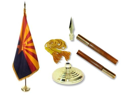 Arizona Indoor State Flag Set