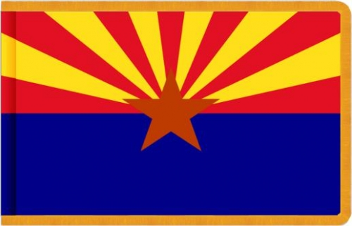Indoor Arizona State Flag, Nylon