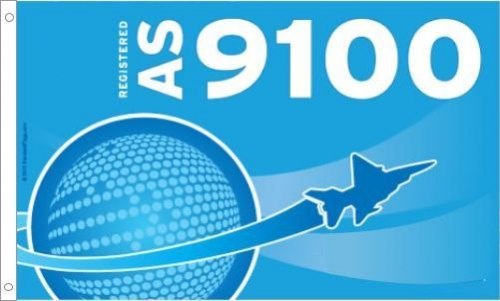 AS 9100 Printed Flag
