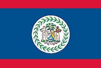 Belize, Belizian Flag