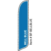 Bell Blue Blade Feather Flag