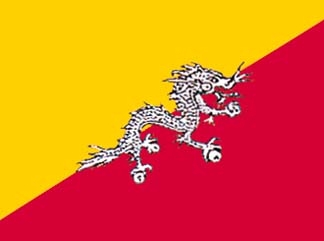 Bhutan, Bhutanese Flag