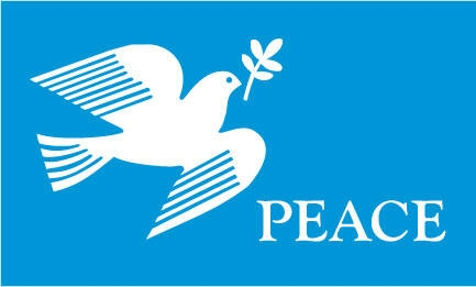 Peace Dove Flag