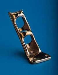 Cast Brass Flagpole Bracket