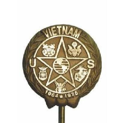 Vietnam War Military Bronze Grave Marker