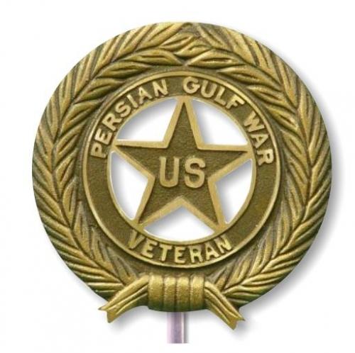 Persian Gulf War Bronze Grave Marker