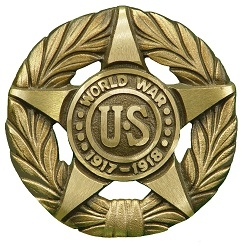 World War I Bronze Grave Marker