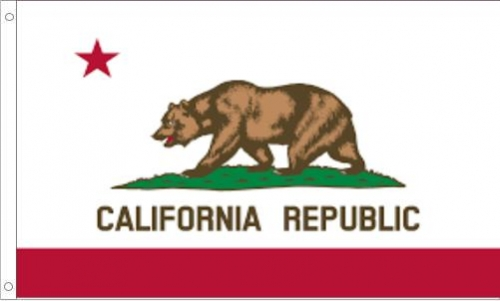 California State Flag, Nylon