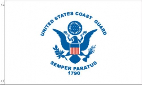 US Coast Guard, H & G, Nylon Flags