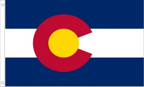 Colorado State Flag, Polyester