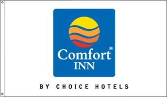 Comfort Inn Nylon Flags