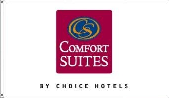 Comfort Inn & Suites Nylon Flags