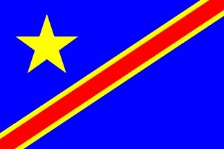 Congo Democratic Rep., Congolese Flag