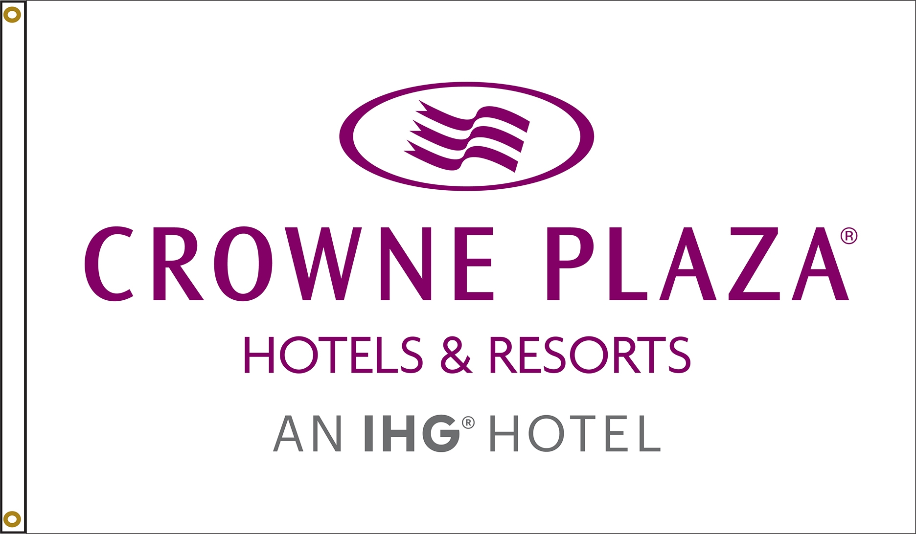 Crowne Plaza Flags
