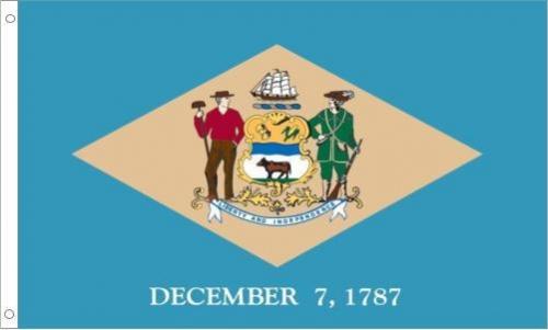 Delaware Flag, Polyester