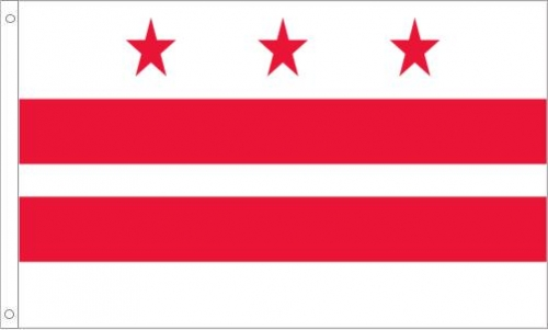 District of Columbia Flag, Polyester