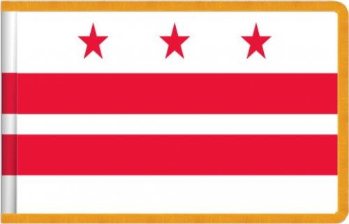 Indoor District of Columbia State Flag, Nylon
