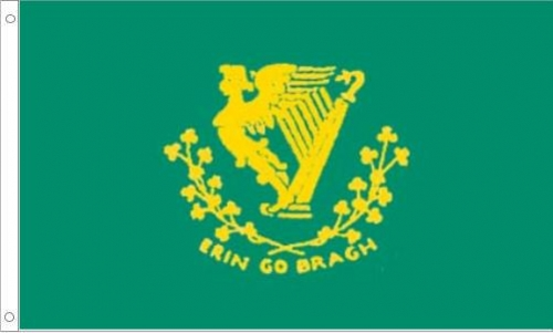 Erin Go Bragh, Irish American Flag