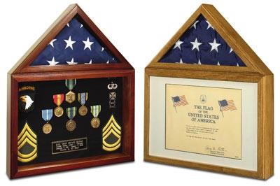 Capitol Certificate Display Case
