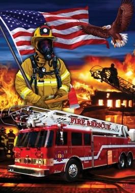 Firefighter's Banner
