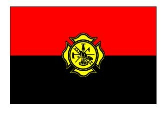 3' x 5' Fireman Remembrance Nylon Flag