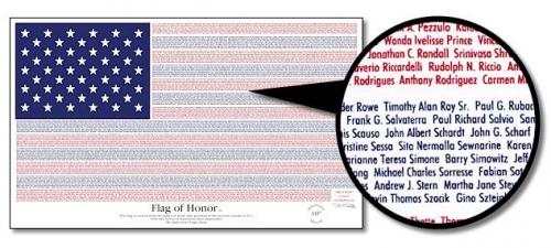 3' x 5' The Flag of Honor Flag