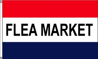 Flea Market Message Flag