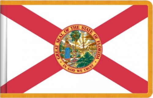 Indoor Florida State Flag, Nylon