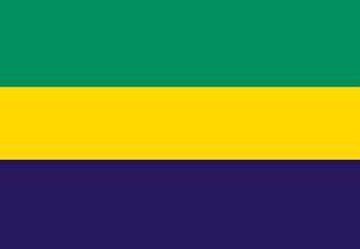 Gabon, Gabonese Flag