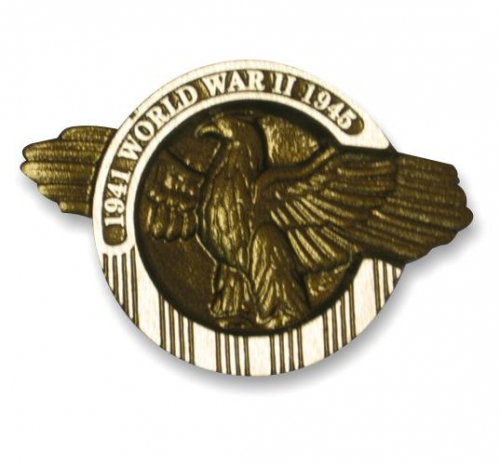 World War II Aluminum Grave Marker