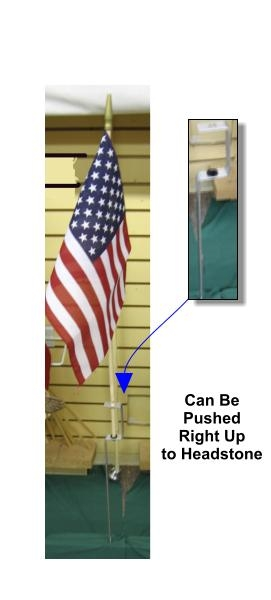 Aluminum Flag Holder