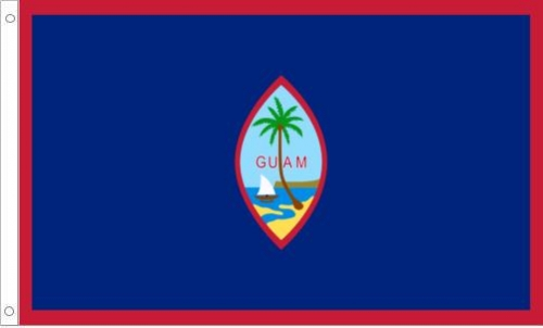 Guam Flag, Polyester