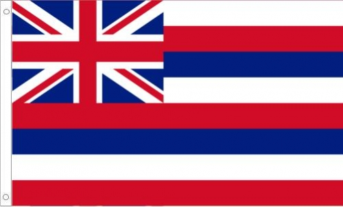 Hawaii Flag, Nylon