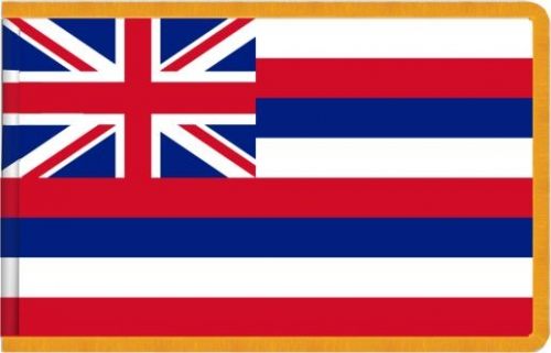 Indoor Hawaii State Flag, Nylon